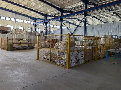 凯萨诺生产材料区