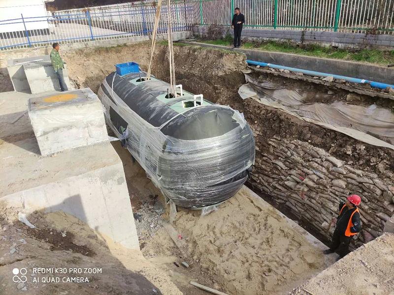 凯萨诺玻璃钢污水处理设备6